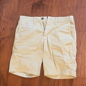 American Eagle Mens Slim Khaki Shorts 30 Waist